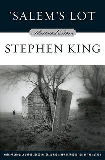 'Salem's Lot by Stephen King. This is the first book I read by Stephen King and it's one of my favorites. NOT your 'Twilight' kind of vampires! Stephen King It, Stephen King Novels, Steven King, I Love Books, Great Books, Books To Read, Salem Lot, Vampire Stories, Vampire Books