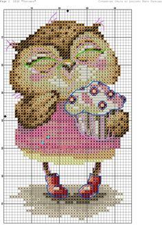 Zz Cross Stitch Owl, Cross Stitch Boards, Cross Stitch Animals, Cross Stitch Designs, Cross Stitching, Cross Stitch Embroidery, Embroidery Patterns, Cross Stitch Patterns, Owl Sewing