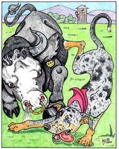 Catahoula cartoon!