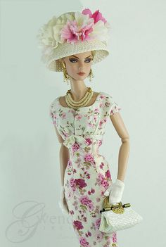 ROSE FLORAL | another beautiful dress by Gwendolyn's Treasures