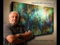 ▶ Abstract Art painting 'Edge of Dreams' Modern, contemporary, Mix Lang How to DEMO - YouTube