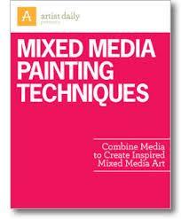 mixed media art techniques - Google Search