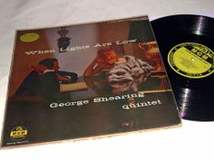 GEORGE SHEARING When Lights Are Low MONO MGM LP Teddi King