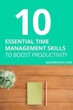 Management Skills: 10 Essentials To Boost Your Productivity Take your time management skills to the next level! Use these time management tips to get more done, boost your productivity, and better manage your time. Time Management Activities, Time Management Printable, Time Management Quotes, Time Management Tools, Time Management Strategies, Project Management, Productivity Quotes, Productivity Management, Productive Things To Do