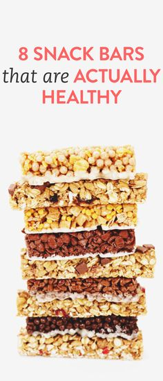 There are countless types of health bars lining the shelves of the grocery store. They promise to boost your energy, help you lose weight, and so on — but to the untrained eye, it's hard to know which are the real deal.