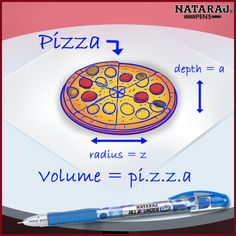 Today is #WorldMathsDay. However here's the kind of maths that we like! Who loves pizza?