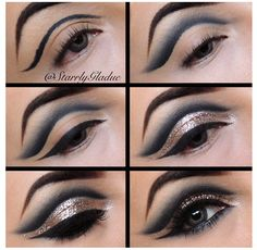 This would definitely take some practice. Exotic makeup...that's for sure