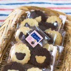 バニラとココアのくまクッキー|レシピブログ