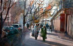 Watercolor Eugen Chisnicean