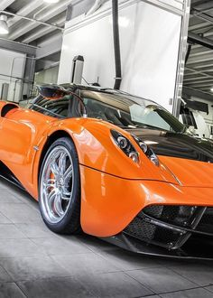 The performance of the Pagani Huayra is stunning. The car accelerates from km/h mph) in seconds and has a top speed of 383 km/h mph). Super Sport Cars, Super Cars, My Dream Car, Dream Cars, Sports Car Wallpaper, Pagani Huayra, Car Loans, Car In The World, Bugatti Veyron