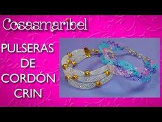 COMO HACER PULSERAS DE CORDON DE CRIN (2 MODELOS) - YouTube