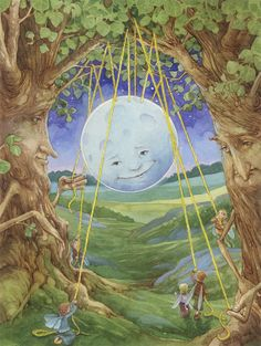 Hanging the Moon Fairies Signed