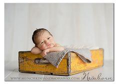 newborn props @Jillian Figueroa Carlton how long have we been talking about using my crates lol