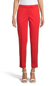 Red Dress Pants, Clothes For Sale, Clothes For Women, Flare Leg Pants, Pantsuits For Women, Anne Klein, Faux Wrap Dress, Ankle Pants, Clothing Items