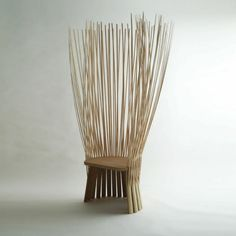 unique designideen bambus deko stuhl möbel