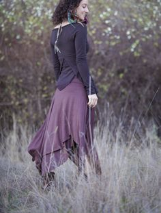 Elven Pixie Top long sleeved Lotus version by ElvenForest on Etsy Pixie-cut Lang, Long Pixie, Manga, Black And Brown, Dress Up, Ballet Skirt, My Style, Lady, Funky Fashion