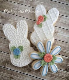 Cookies - These have got to be some of the prettiest cookies I've ever seen.