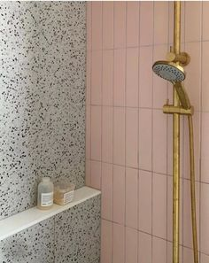 pink bathroom Shop the Riverton Matt Pink Subway Tiles and Redfern mixed tiles to create this look. Available on our website today! Bathroom Spa, Laundry In Bathroom, Target Bathroom, Bathroom Ideas, White Subway Tile Bathroom, Pink Bathroom Tiles, Bright Bathrooms, Bath Tiles, Modern Bathrooms