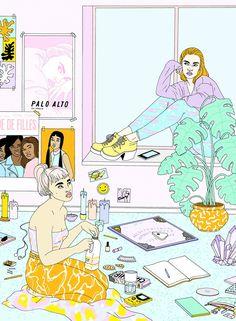 As ilustrações de Laura Callaghan
