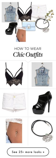 """Untitled #988"" by princessrobinel on Polyvore featuring WithChic, Forever 21, NOVICA, RWH by Rewash and Club L"
