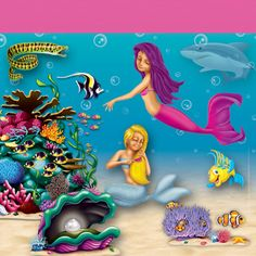 Under the Sea Backdrops, Backgrounds & Props