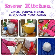 Snow Kitchen - Outdoor Play