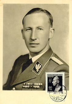 Postcard photo of Reinhard Heydrich