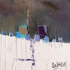 Achat de tableau de l´artiste Nathalie Leverger en petit format a la galerie d´art contemporain carré d´artistes biographie