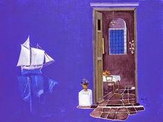 Σπύρος Βασιλείου Greece Painting, Modern Art, Contemporary Art, Street Art, 10 Picture, Artist Painting, Art Paintings, Conceptual Art, Great Artists