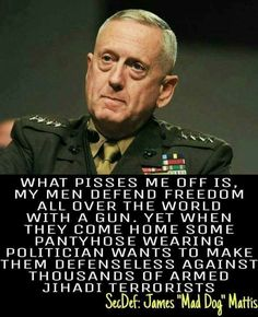 Regrann from - Regrann from - I love Mad Dog! General James Mattis, Military Humor, Military Quotes, Usmc Quotes, Conservative Politics, God Bless America, America America, Great Quotes, Wisdom
