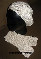 Must be a Lady pattern by Sheri Weber ~ free pattern ᛡ
