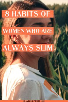 Becoming slim can feel daunting at times. You're not always in control of your weight when factors such as age play a role. These are a few general habits you can adopt that might help you reach your health goals. Check them out now!