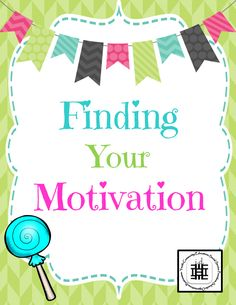 An interactive activity to assist youth in finding their motivation! It's great to get teens and young adults rejuvenated in the middle and at the end of the year.