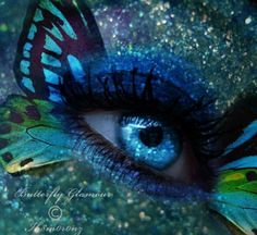20 Stunning Eyes Photo Manipulations n Digital Artworks gathered from Deviant Art Collections, digital eye art, eye photo manipulations Pretty Eyes, Cool Eyes, Butterfly Eyes, Butterflies, Butterfly Fashion, Butterfly Kisses, Eyes Without A Face, Eye Images, Fantasy Make Up