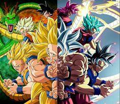 Dragon Ball Z and Super Dragon Ball Gt, Dragonball Super, Manga Dragon, Best Anime Shows, Fanart, Anime Art, Graphics, Comics, Son Goku