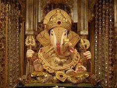 Indian devotee Ganesha is coming to your home.