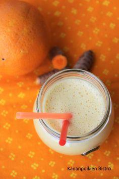 Kymmenen ihanaa smoothieta! Bon Appetit, Grapefruit, Smoothies, Healthy Recipes, Healthy Food, Sugar, Milkshakes, Turmeric, Smoothie