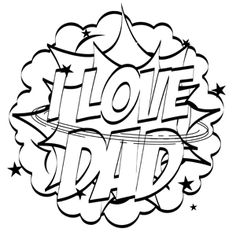 Free Unique and Printable Fathers Day Coloring Pages for Kids