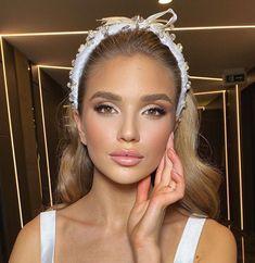 Soft Bridal Makeup, Natural Wedding Makeup, Natural Makeup Looks, Bride Makeup, Wedding Hair And Makeup, Natural Glow Makeup, Wedding Makeup For Brunettes, Make Up Braut, Nails Short
