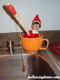Elf On The Shelf On Pinterest Elves Fishing And Poems