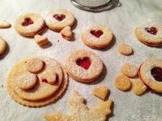Linzer cookies – original German cut out cookie recipe for christmas as a gift or give-away filled with jam or marmalade or any spread you like (nutella, marshmallow)