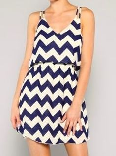 Navy Chevron Mini - $39.99 : FashionCupcake, Designer Clothing, Accessories, and Gifts