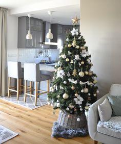 Christmas Tree, Holiday Decor, House, Home Decor, Teal Christmas Tree, Xmas Trees, Haus, Xmas Tree, Interior Design