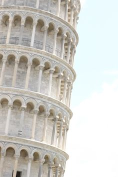 The Leaning Tower of Pisa, Italy ♥