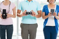 Qual câmera é melhor: smartphone ou digital?. Veja mais em efacil.com.br/simplifica