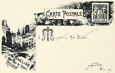 Carte Postale-postcard    From Les Menus & Programmes Illustrés - Invitations - Billets de Faire-Part - Cartes d'Adresses - Petites Estampes du XVIIème Siècle jusqu'à nos jours.    By Léon Maillard. Published 1898 by G. Boudet, Paris.