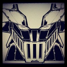 Mazinger by vinade, via Flickr