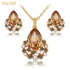 Rose Gold Crystal Necklace And Earring //Price: $14.99 & FREE Shipping //     #women #Fashion #instafashion #Dress #sexy #leggings #Earrings #nail #apperal #fashionista #fashionable #fashionstyle #fashiongram #handbags #fashionjewelry #instajewelry #jewelrygram #waisttrainers #fit #weightloss #waistcincher #hourglass #curves #getfit #waistcinchers #fit #fitness #transformation #fitnessmotivation