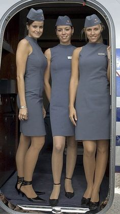 Photos of sexy stewardesses and sexy air hostess in uniform behaving badly for your enjoyment. Flight Girls, Pin Up, Airline Uniforms, Flight Attendant Life, Girls Uniforms, Cabin Crew, Mode Vintage, Beautiful Women, Beautiful Legs