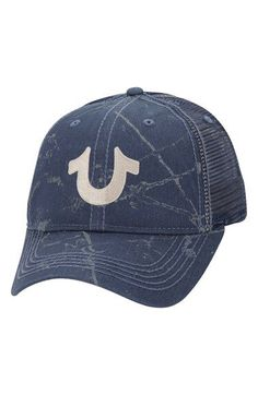 5b857a94907db Nordstrom Jeans - True Religion Brand Jeans Spray Print Trucker Cap  available at  Nordstrom